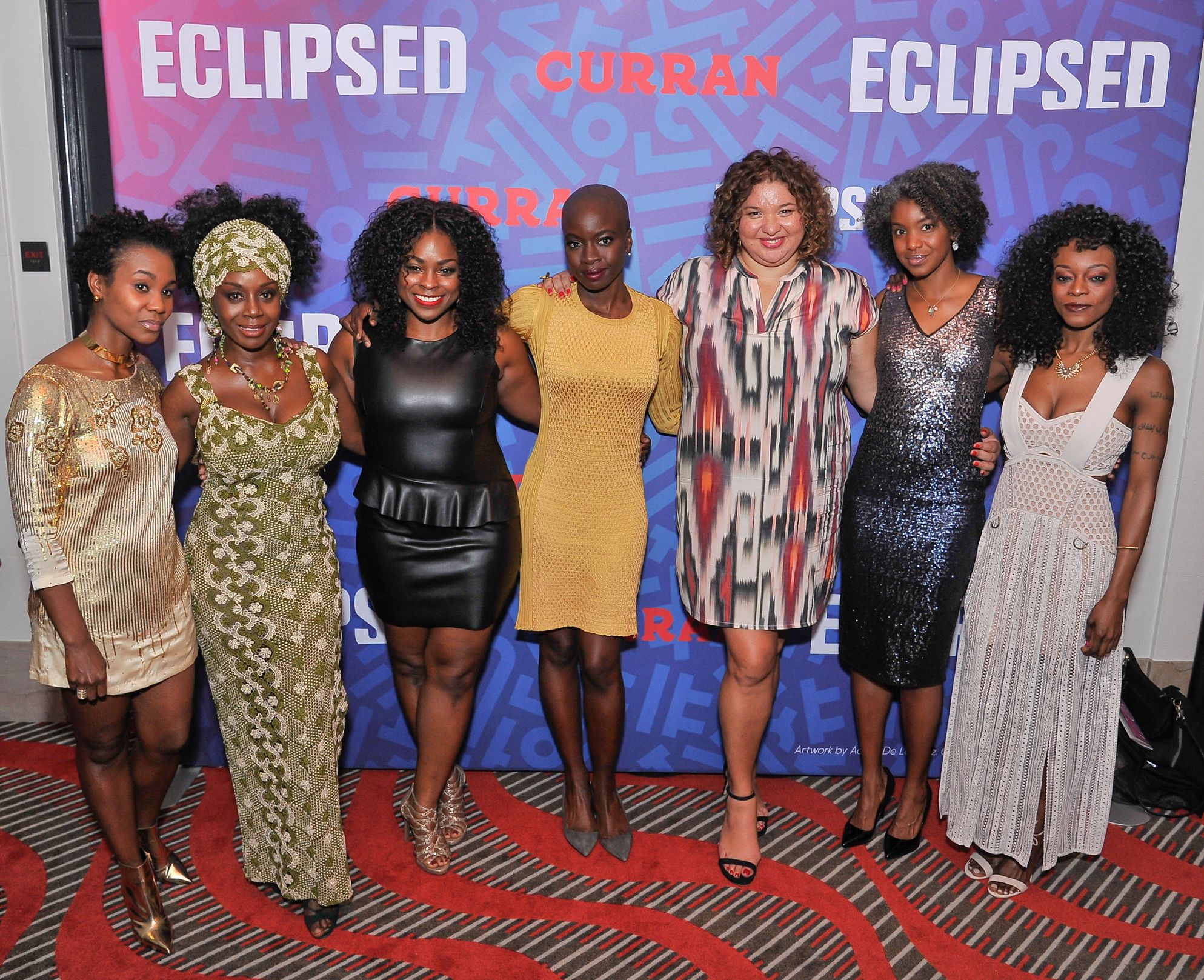 Eclipsed Opening Night at Curran Theater