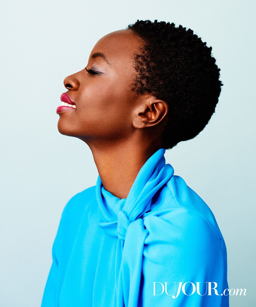 Danai Gurira for DuJour in 2015