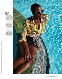 Danai Gurira in More Magazine in 2013