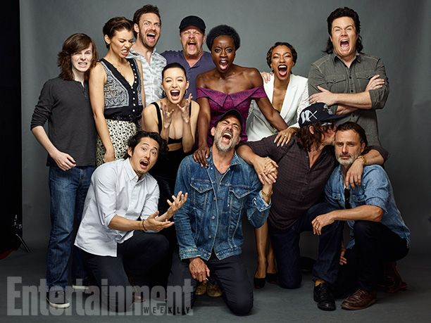 'The Walking Dead' Cast Portraits at SDCC 2016 for Entertainment Weekly