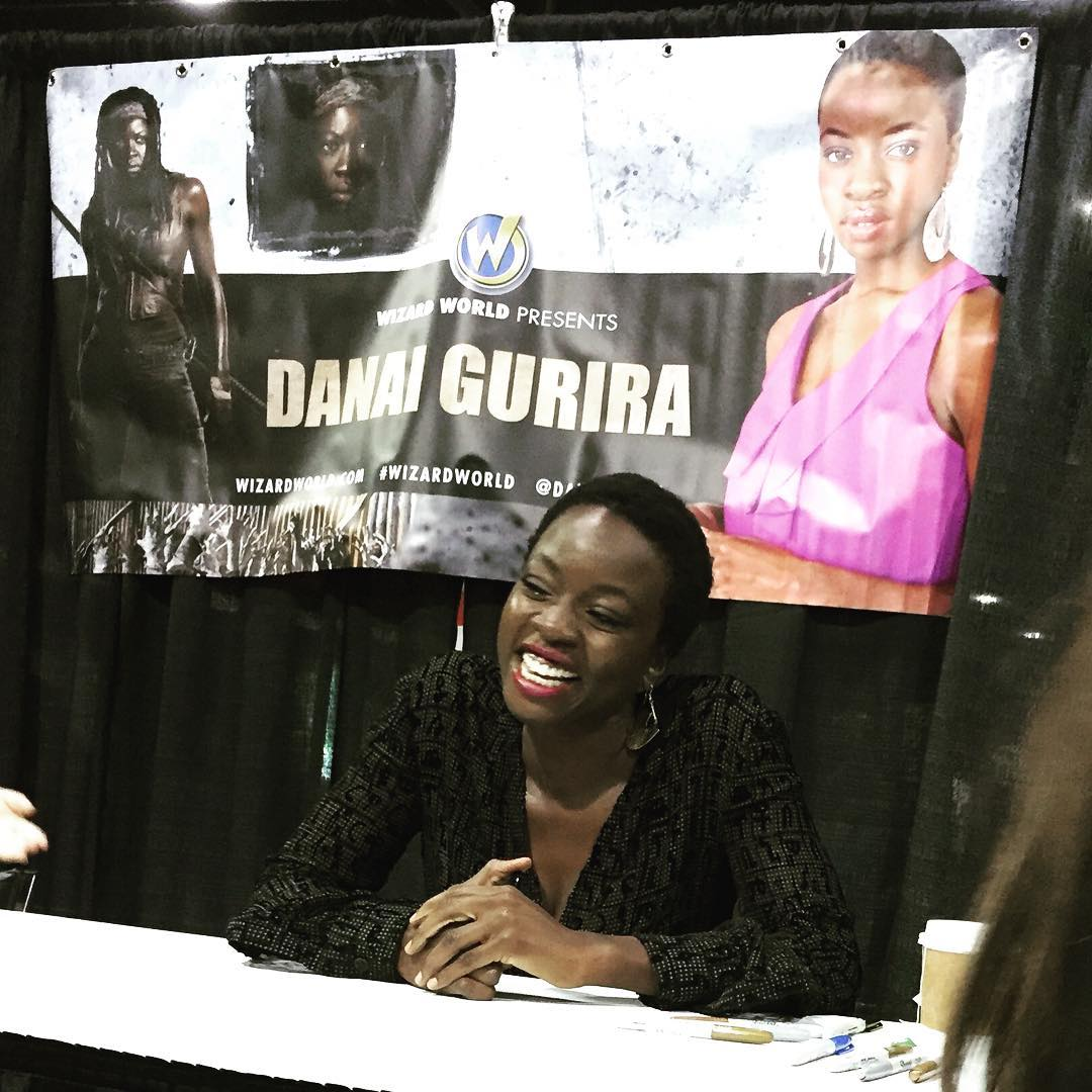 Danai Gurira at Wizard World Chicago