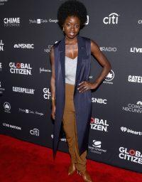 Danai Gurira at Global Citizen Festival 2016