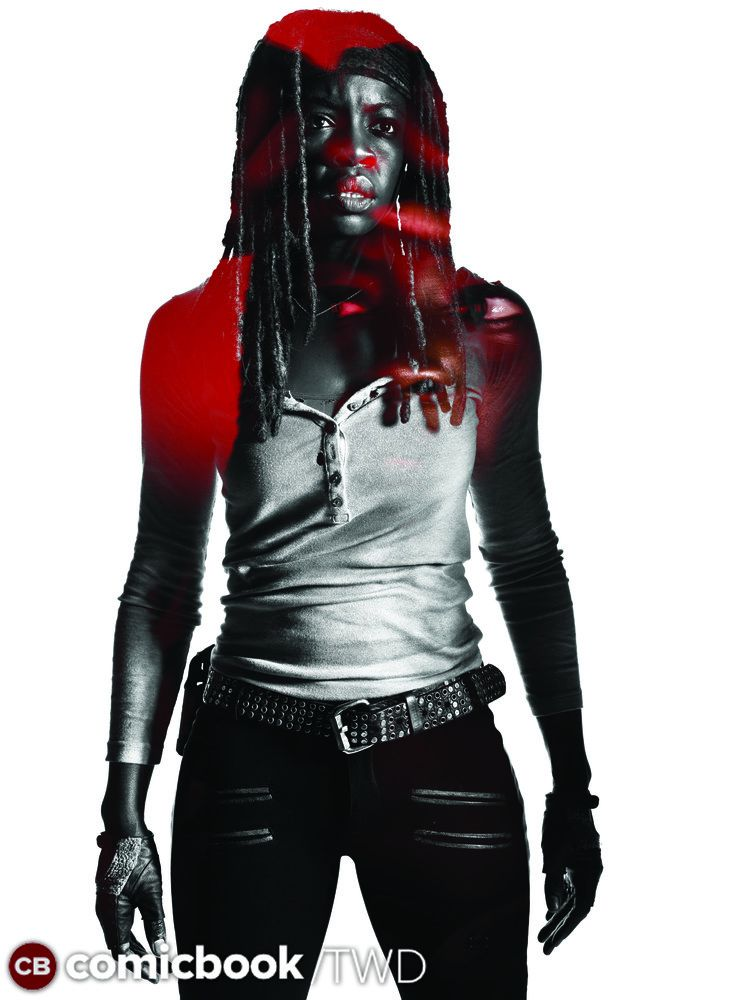 The Walking Dead - Season 7 - Key Art - Michonne - 01