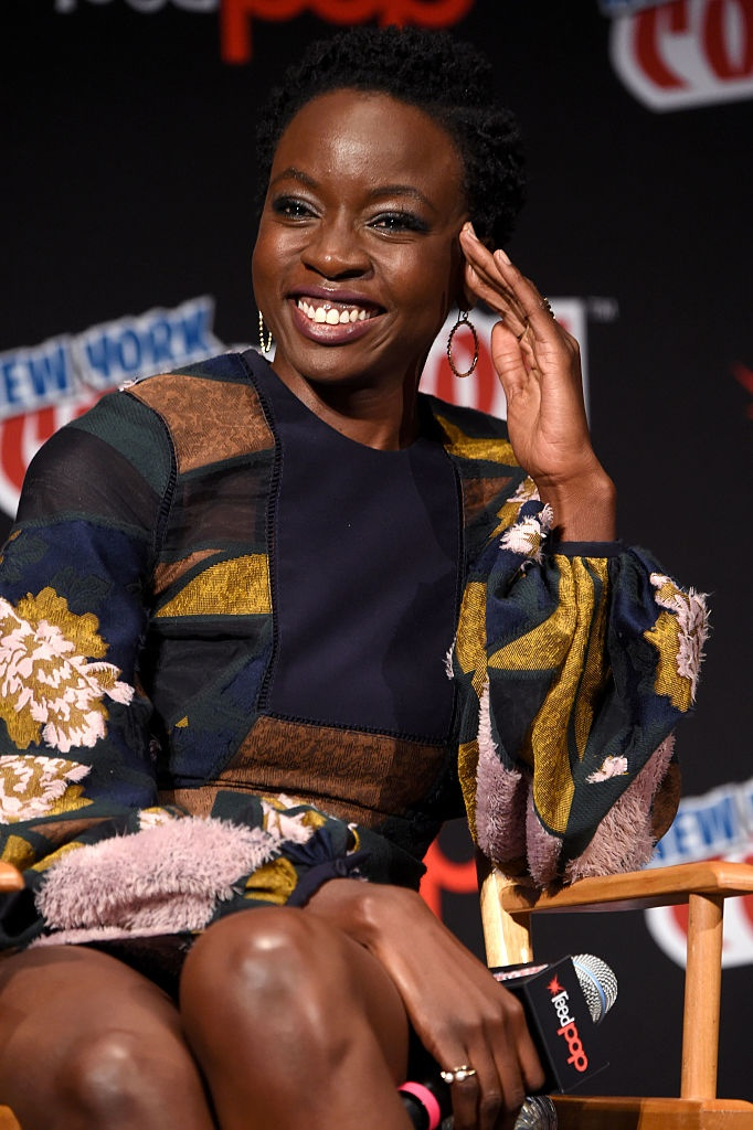 Danai Gurira and the cast of 'The Walking Dead' at the 2016 NYCC Comic-Con Panel