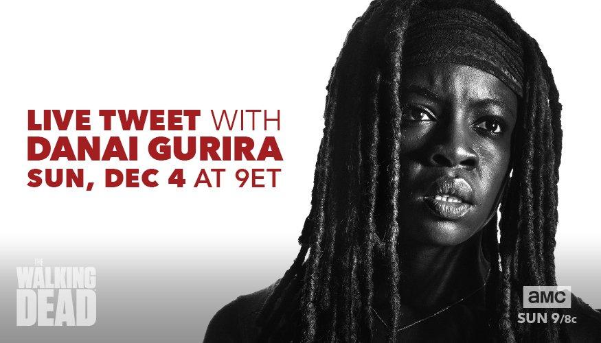 'The Walking Dead' 707 Sneak Peek Commentary + Live Tweet with Danai on Sunday!
