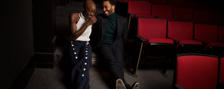 Danai Gurira and André Holland featured in the New York Times
