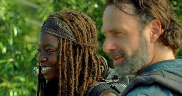 "Rick and Michonne in the ""Fight For The Future"" Promo Clip"
