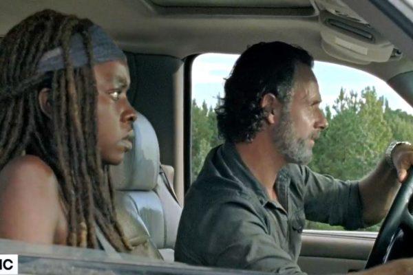 Rick and Michonne in new 'Roadblock' Sneak Peek
