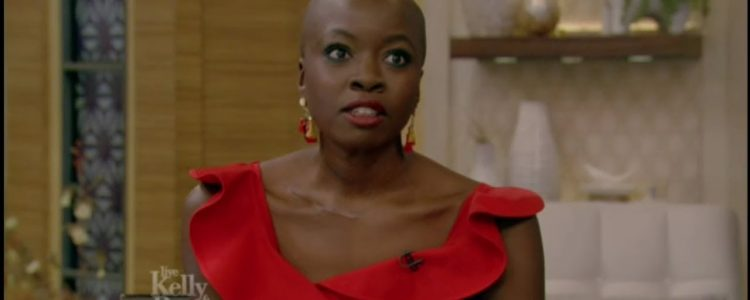 Danai Gurira on 'Live with Kelly and Ryan'