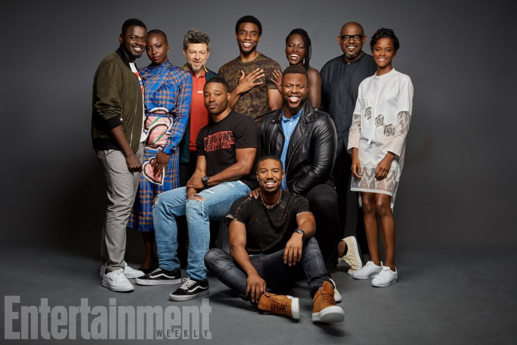 SDCC 'Black Panther' cast portrait for Entertainment Weekly