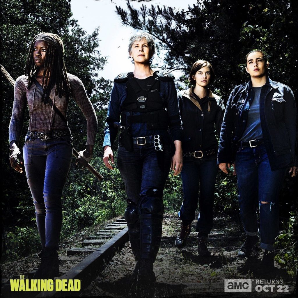 The Walking Dead season 8 promo - Michonne, Carol, Maggie, Tara