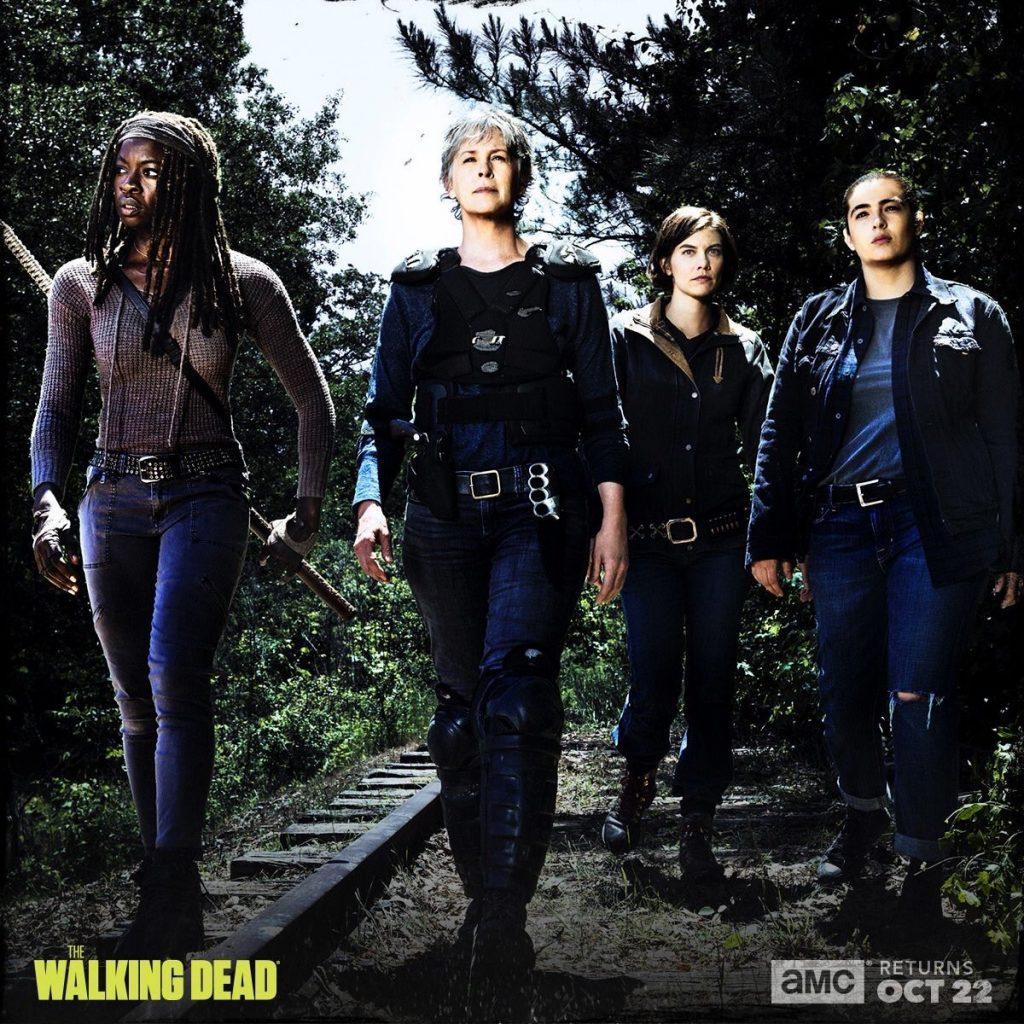 The Walking Dead season 8 promo - Michonne, Carol, Maggie, Tara