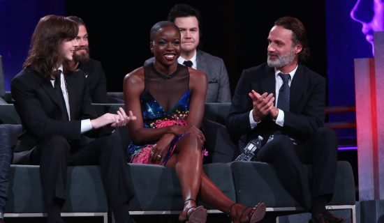 Danai Gurira at the TWD Season 8 100th Episode Premiere and Party