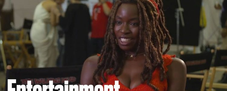 Danai Gurira describes her first day on set of 'The Walking Dead'