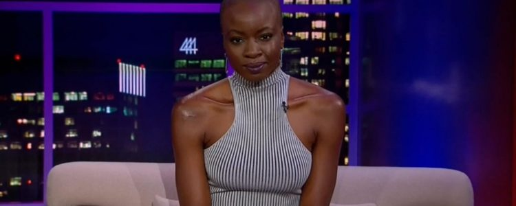 Danai Gurira on the Tavis Smiley show