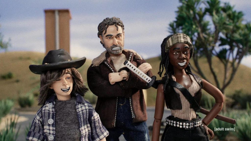 The Walking Dead - Robot Chicken special