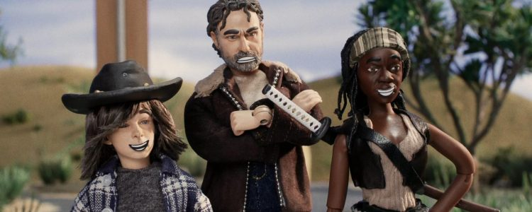 Danai Gurira voices Michonne on Robot Chicken 'Look Who's Walking' Special!