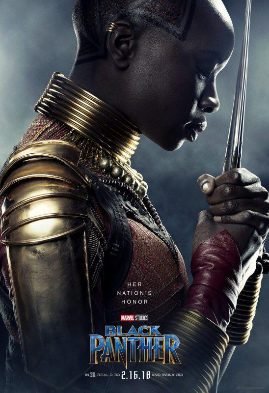 "Danai Gurira ""Black Panther"" Okoye Poster"