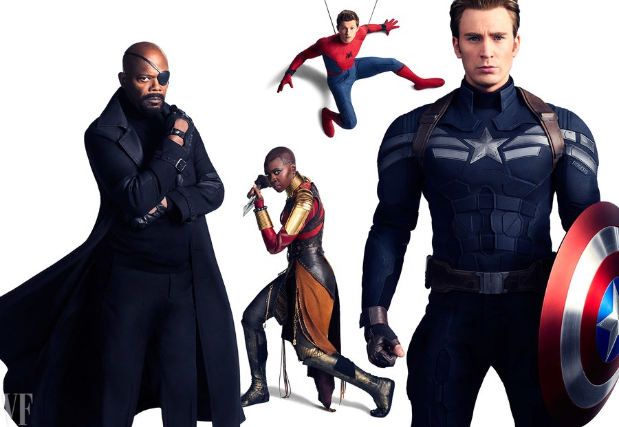 Marvel Vanity Fair photoshoot