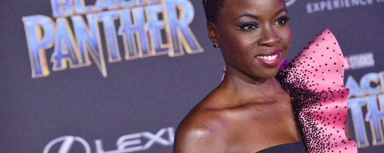 Danai Gurira at the 'Black Panther' premiere!
