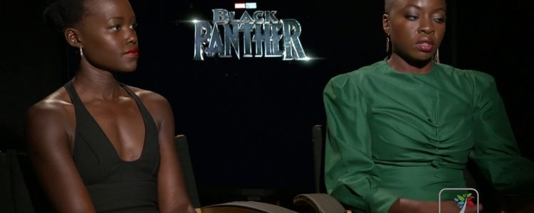 Lupita Nyong'o and Danai Gurira Black Panther Interview