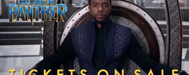 New 'Black Panther' TV Spot + Pre-sale tickets now available!
